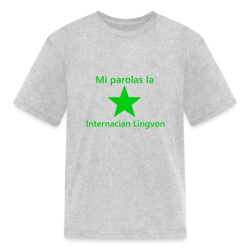 I speak the international language - Kids' T-Shirt