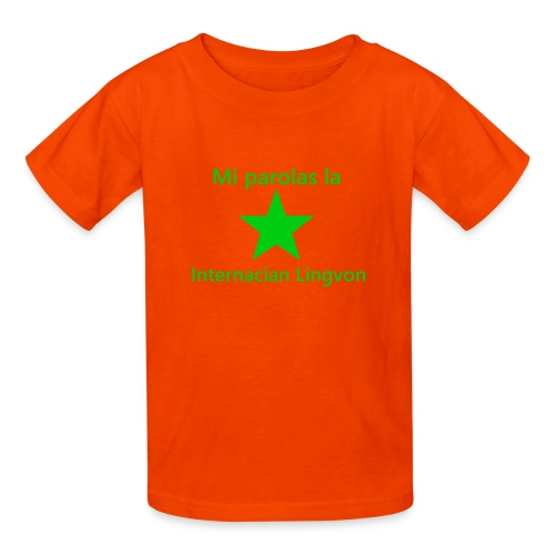 I speak the international language - Kids' T-Shirt