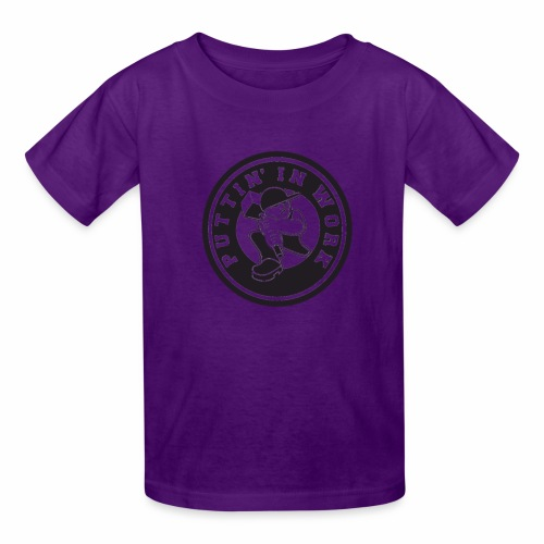 Puttin' In Work Apparel - Kids' T-Shirt