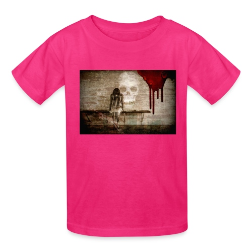 sad girl - Kids' T-Shirt