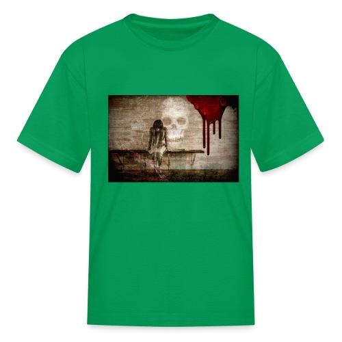 sad girl - Kids' T-Shirt