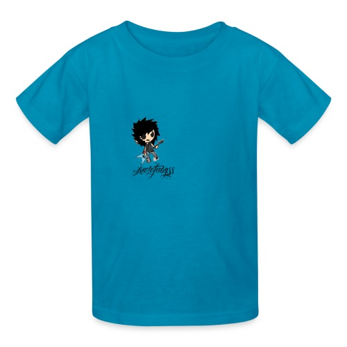 axelofabyss self portrait - Kids' T-Shirt