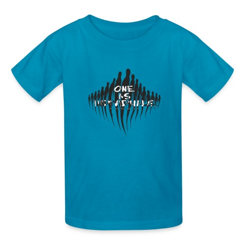 one as individuals - Kids' T-Shirt