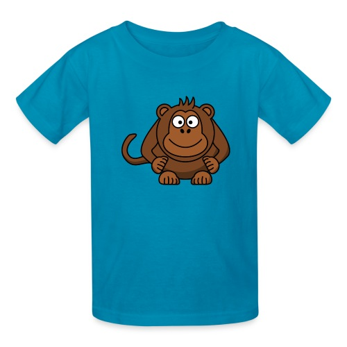 Funny Monkey - Kids' T-Shirt