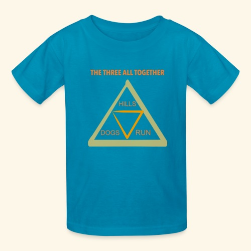 Run4Dogs Triangle - Kids' T-Shirt