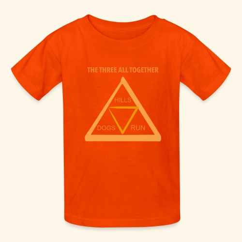 Run4Dogs Triangle - Kids' T-Shirt