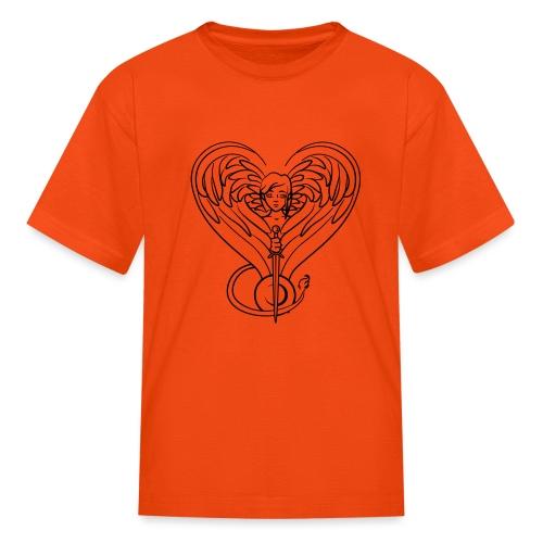 Sphinx valentine - Kids' T-Shirt