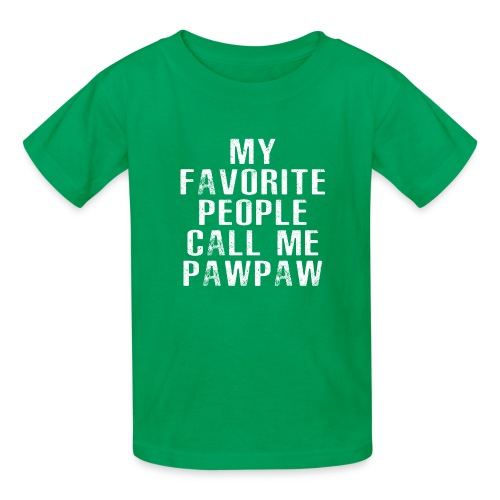 My Favorite People Called me PawPaw - Kids' T-Shirt