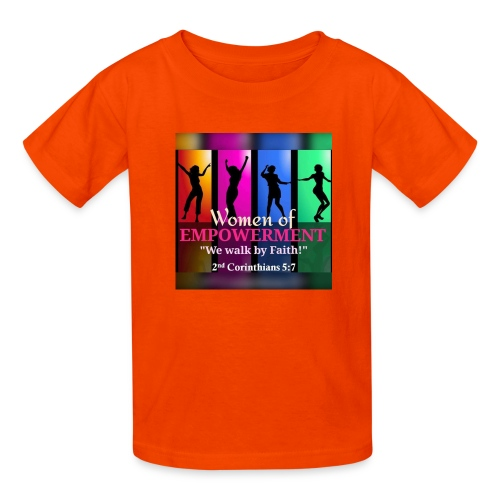 Woman Of Empowerment - Kids' T-Shirt
