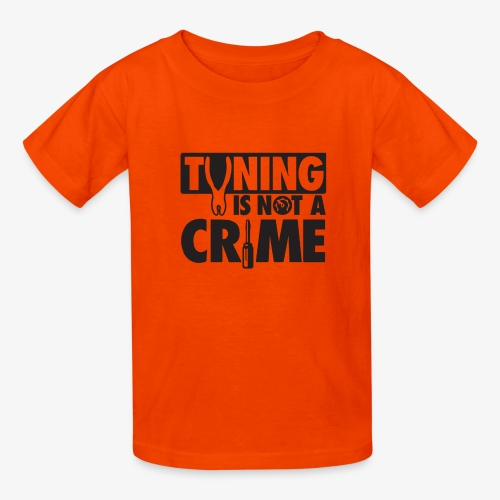 Tuning is not a crime - Kids' T-Shirt