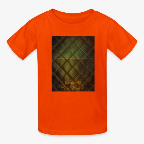 JumondR The goldprint - Kids' T-Shirt