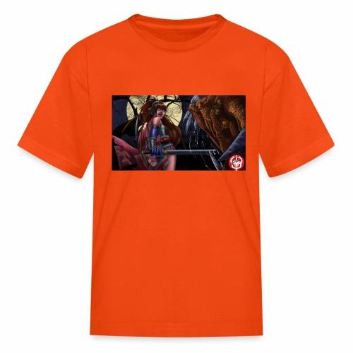 Anime Demon Hunter - Kids' T-Shirt