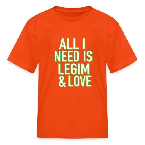 Legim and Love - Kids' T-Shirt