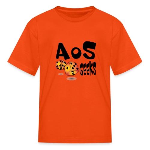 AOS Geeks NOIR - T-shirt classique pour enfants