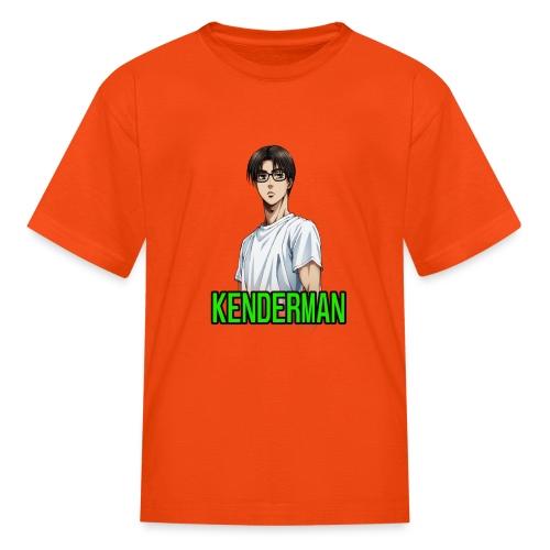 Kenderman manga style merch - Kids' T-Shirt
