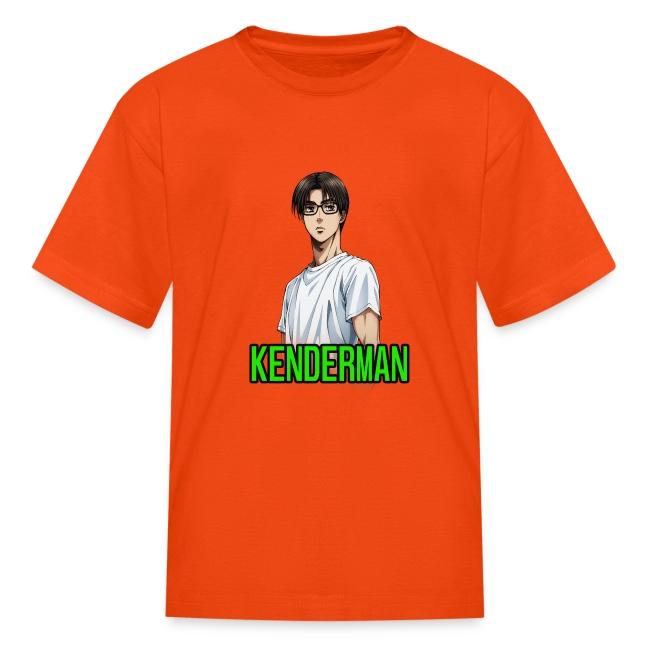 Kenderman manga style merch