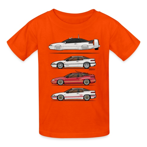 Alcyone SVX Spy Quartet - Kids' T-Shirt