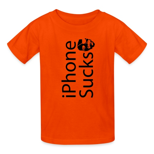 iPhone Sucks - Kids' T-Shirt