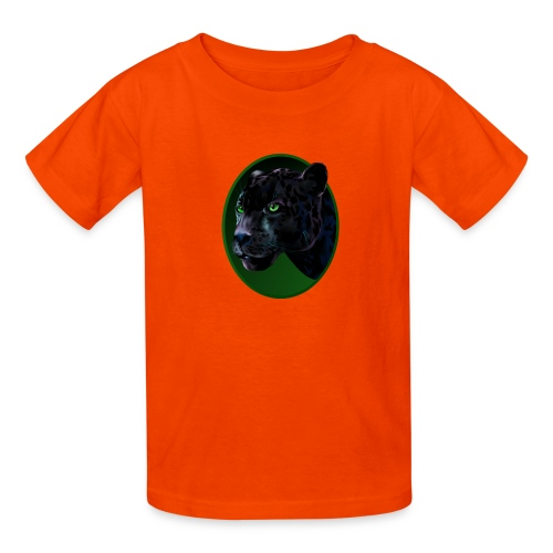 Big Black Jaquar - Kids' T-Shirt