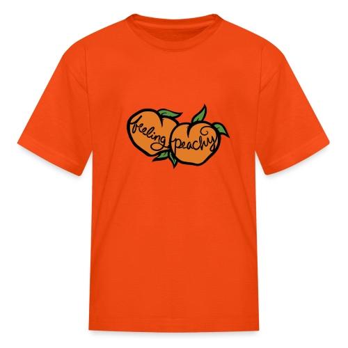 Feeling peachy - Kids' T-Shirt
