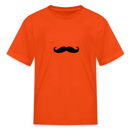 mustache - Kids' T-Shirt