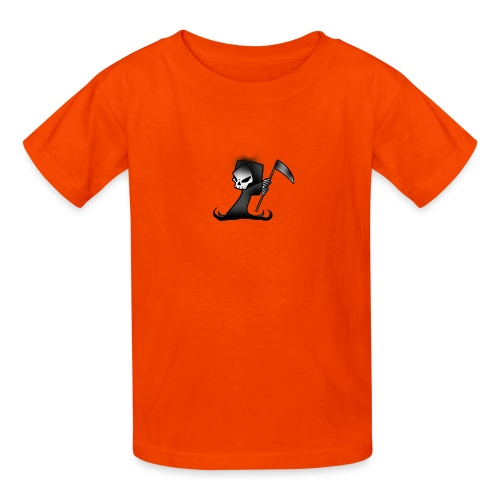 the grim - Kids' T-Shirt