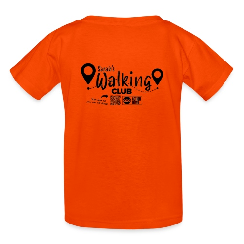 Sarah's Walking Club - Kids' T-Shirt