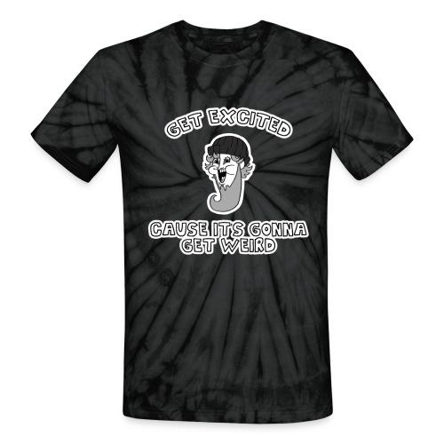 Colon Dwarf - Unisex Tie Dye T-Shirt
