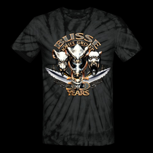 bkg35thannimversarytransparent - Unisex Tie Dye T-Shirt