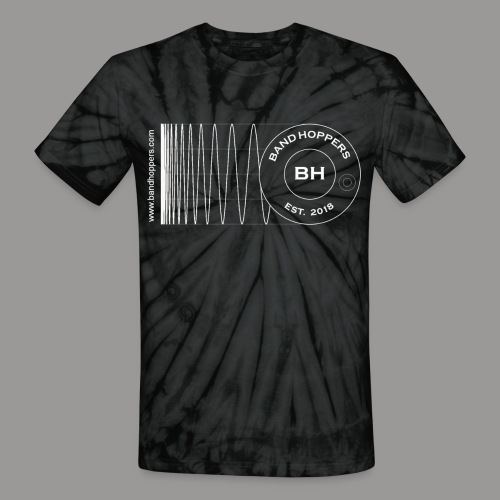 BandHoppers Logo #1 - Unisex Tie Dye T-Shirt