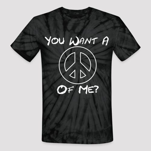 Peace Des png - Unisex Tie Dye T-Shirt