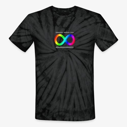 Embrace Neurodiversity - Unisex Tie Dye T-Shirt