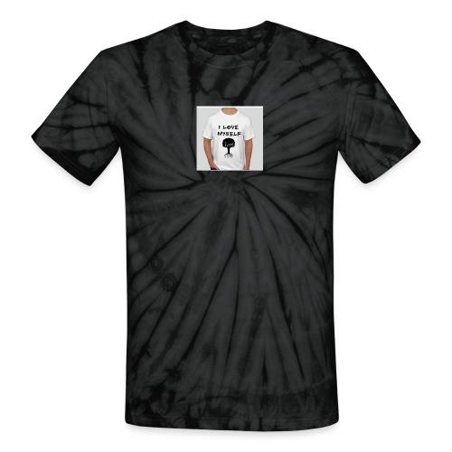 love myself - Unisex Tie Dye T-Shirt