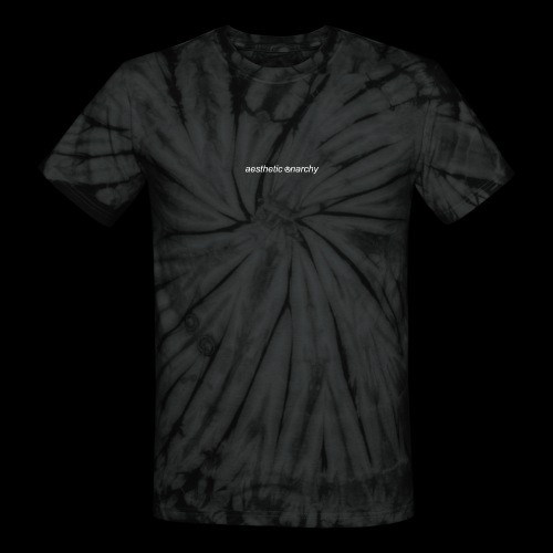 'Black' Aesthetic Anarchy - Unisex Tie Dye T-Shirt
