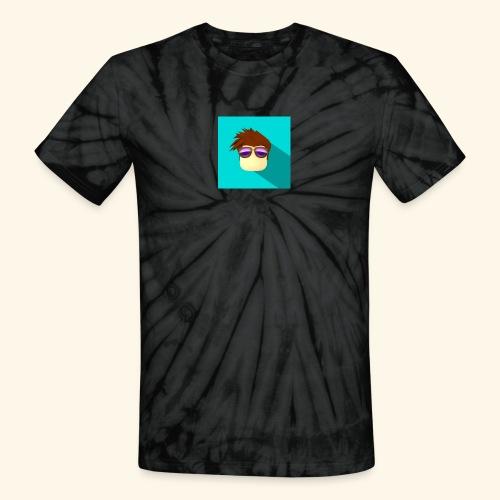 NixVidz Youtube logo - Unisex Tie Dye T-Shirt