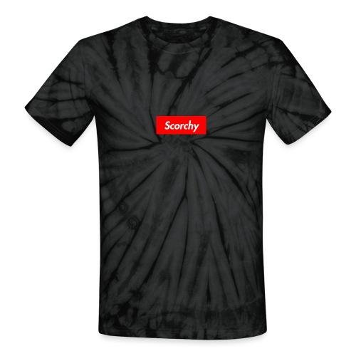 Scorchy HypeBeast - Unisex Tie Dye T-Shirt