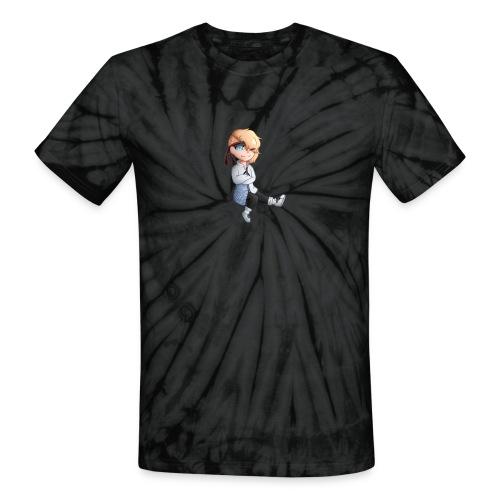 Martial Art Master Waifu Pancakes - Unisex Tie Dye T-Shirt