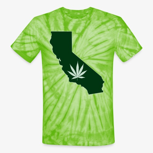 weed - Unisex Tie Dye T-Shirt