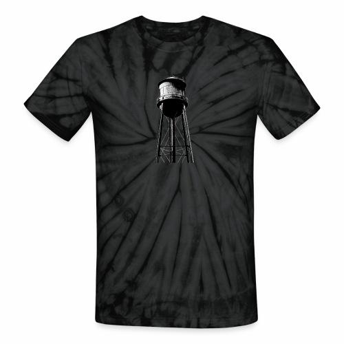 Water Tower - Unisex Tie Dye T-Shirt