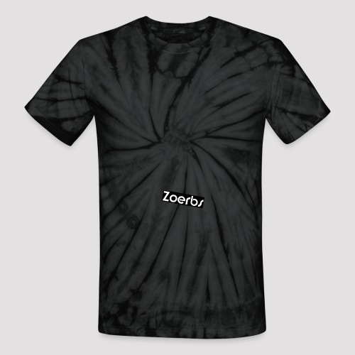Zoerb png - Unisex Tie Dye T-Shirt