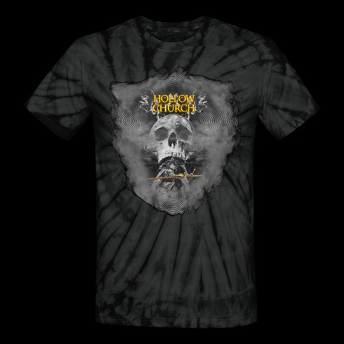Hollow Church by Daniel Waechter - Unisex Tie Dye T-Shirt