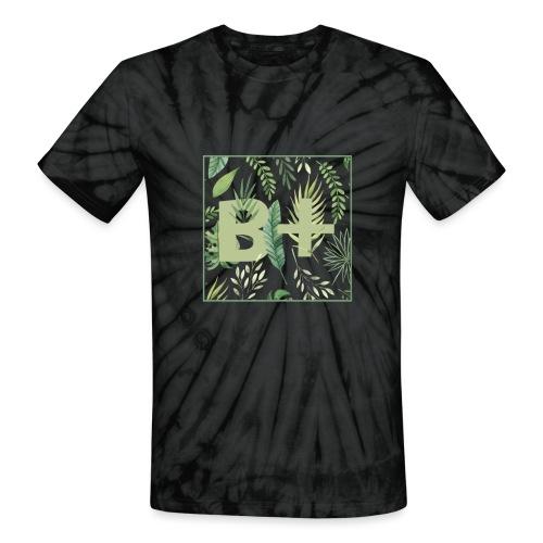 Be positive - Unisex Tie Dye T-Shirt