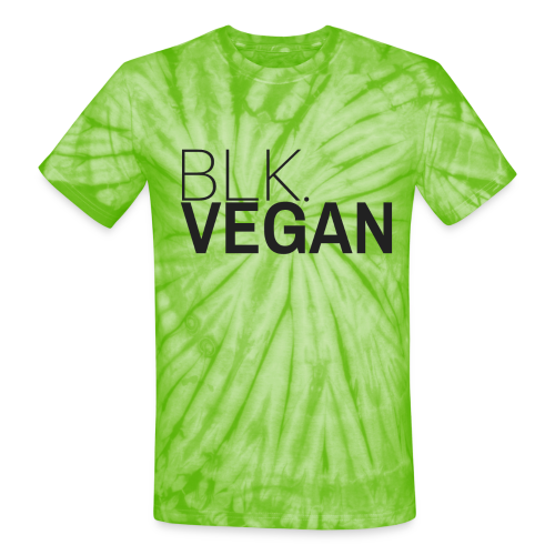 Blk. Vegan - Unisex Tie Dye T-Shirt