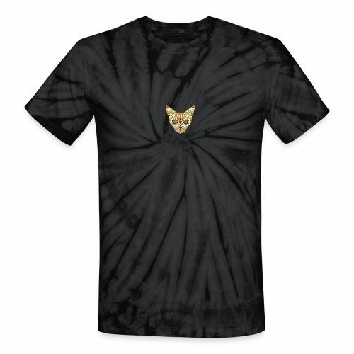 Kitty katt - Unisex Tie Dye T-Shirt