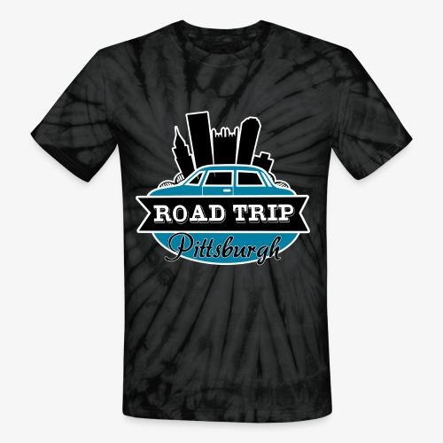 road trip - Unisex Tie Dye T-Shirt