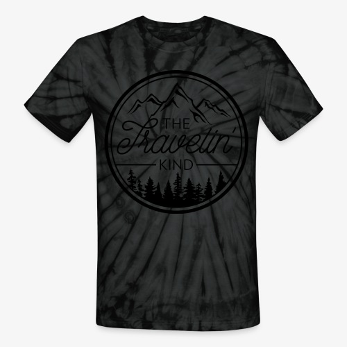 The Travelin Kind - Unisex Tie Dye T-Shirt