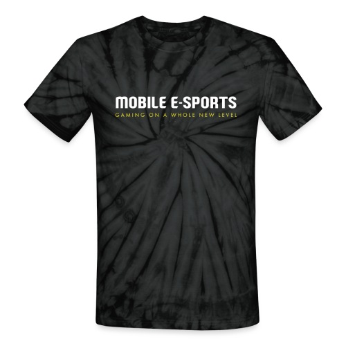 MOBILE E-SPORTS - Unisex Tie Dye T-Shirt