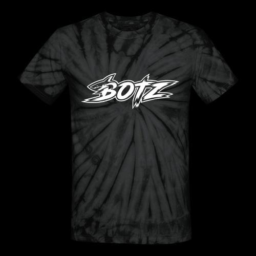 BOTZ White Logo - Unisex Tie Dye T-Shirt