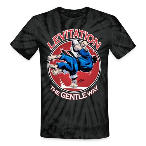 Judo Levitation for dark shirt - Unisex Tie Dye T-Shirt