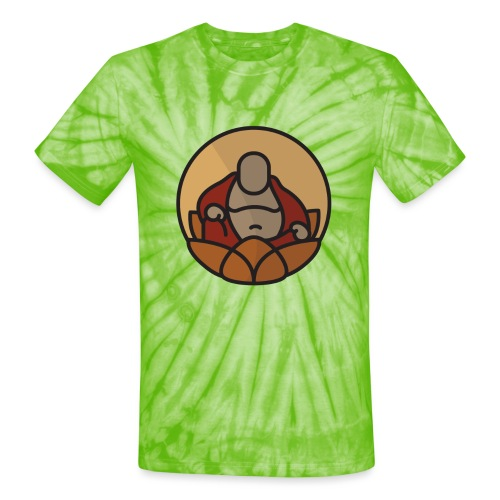 AMERICAN BUDDHA CO. COLOR - Unisex Tie Dye T-Shirt